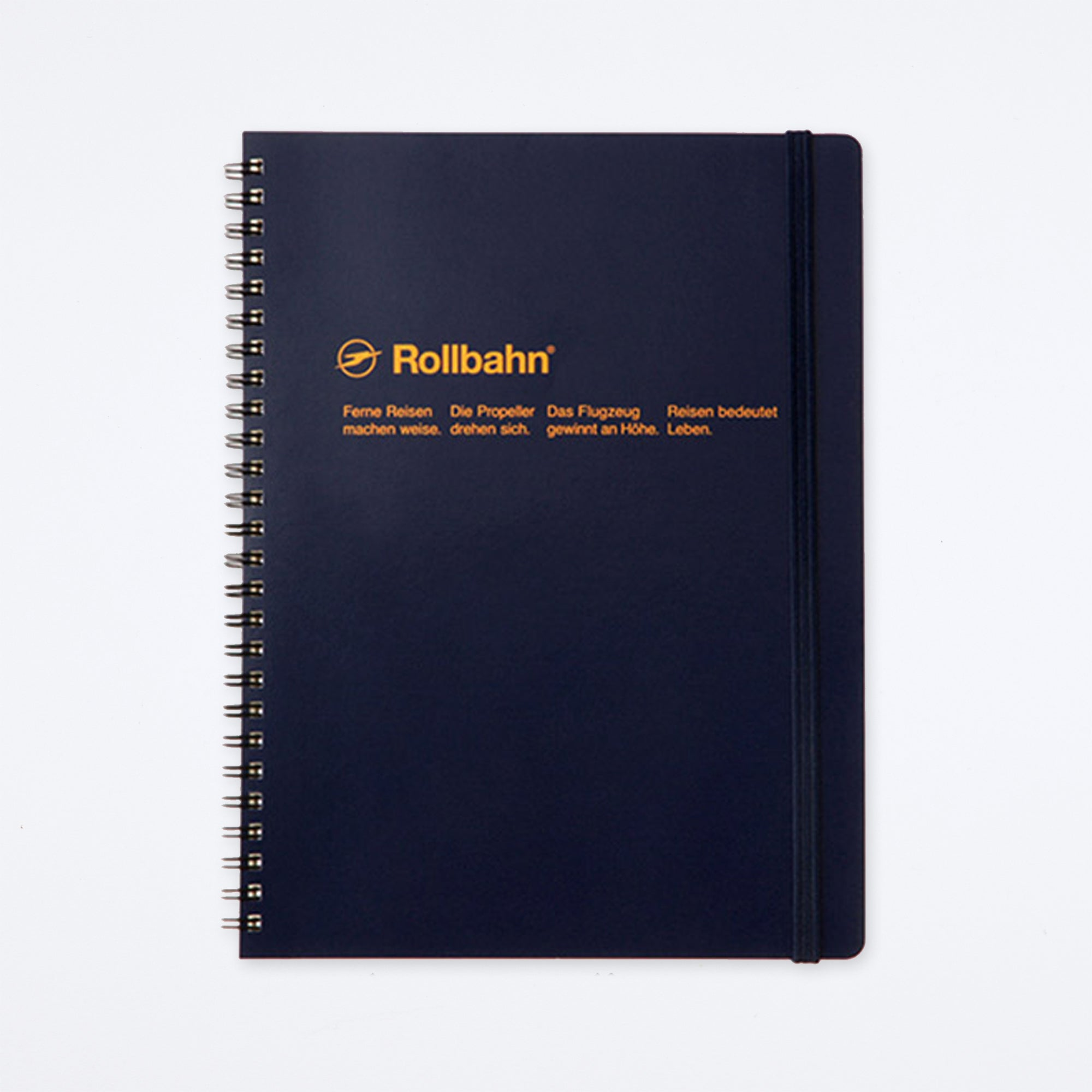 Rollbahn Spiral Extra Large Notebook