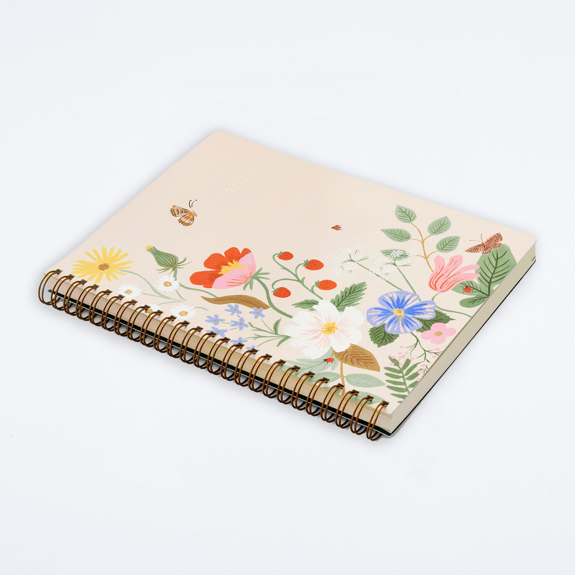 2021 Strawberry Fields Softcover Spiral Planner