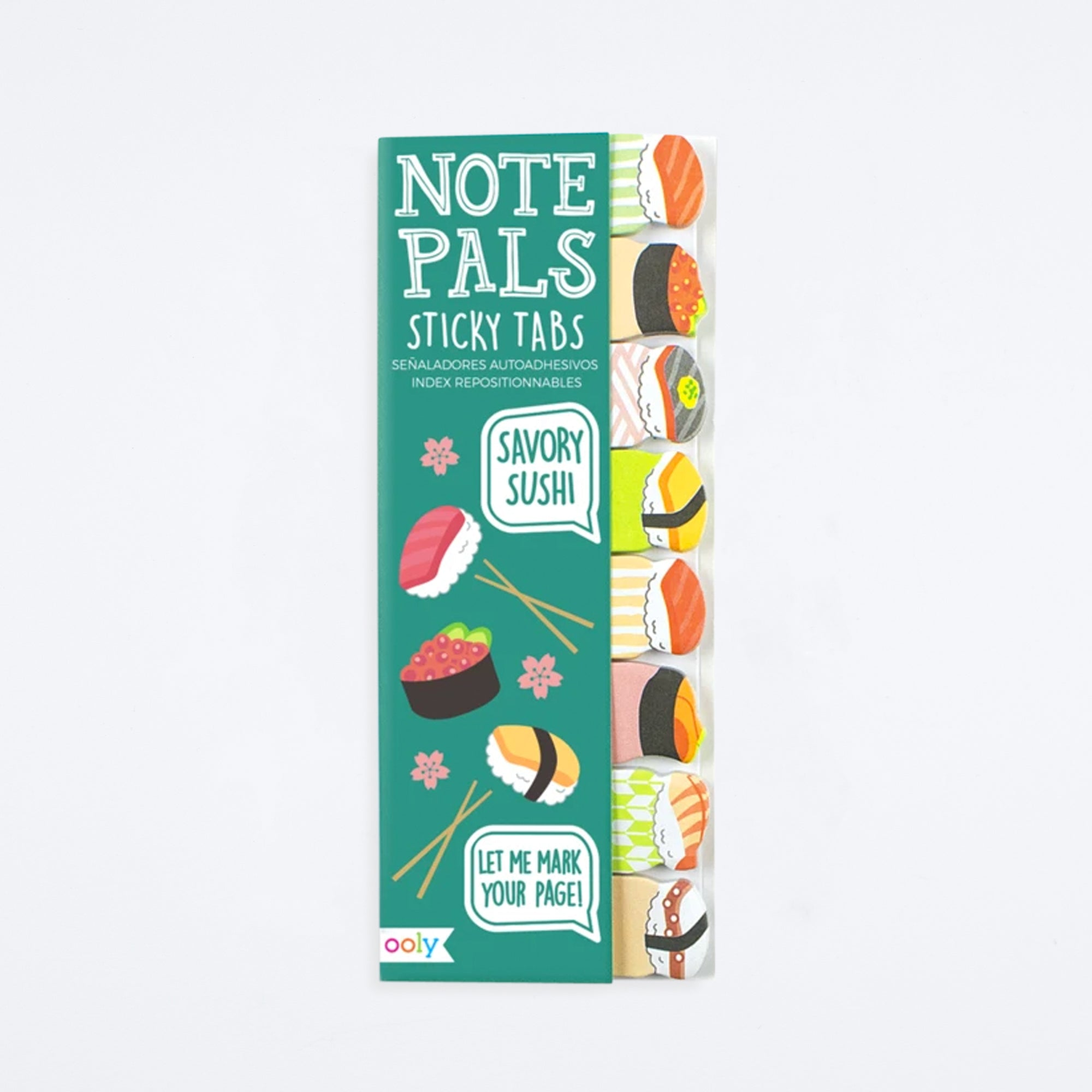 Savory Sushi Note Pals Sticky Notes