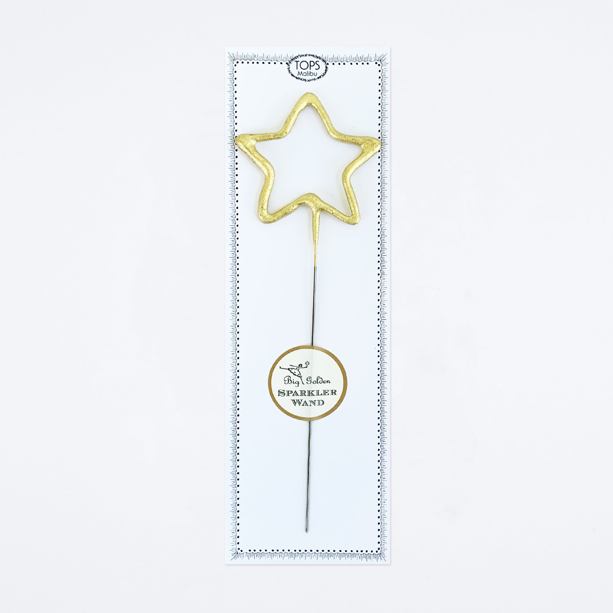 Big Golden Star Sparkler