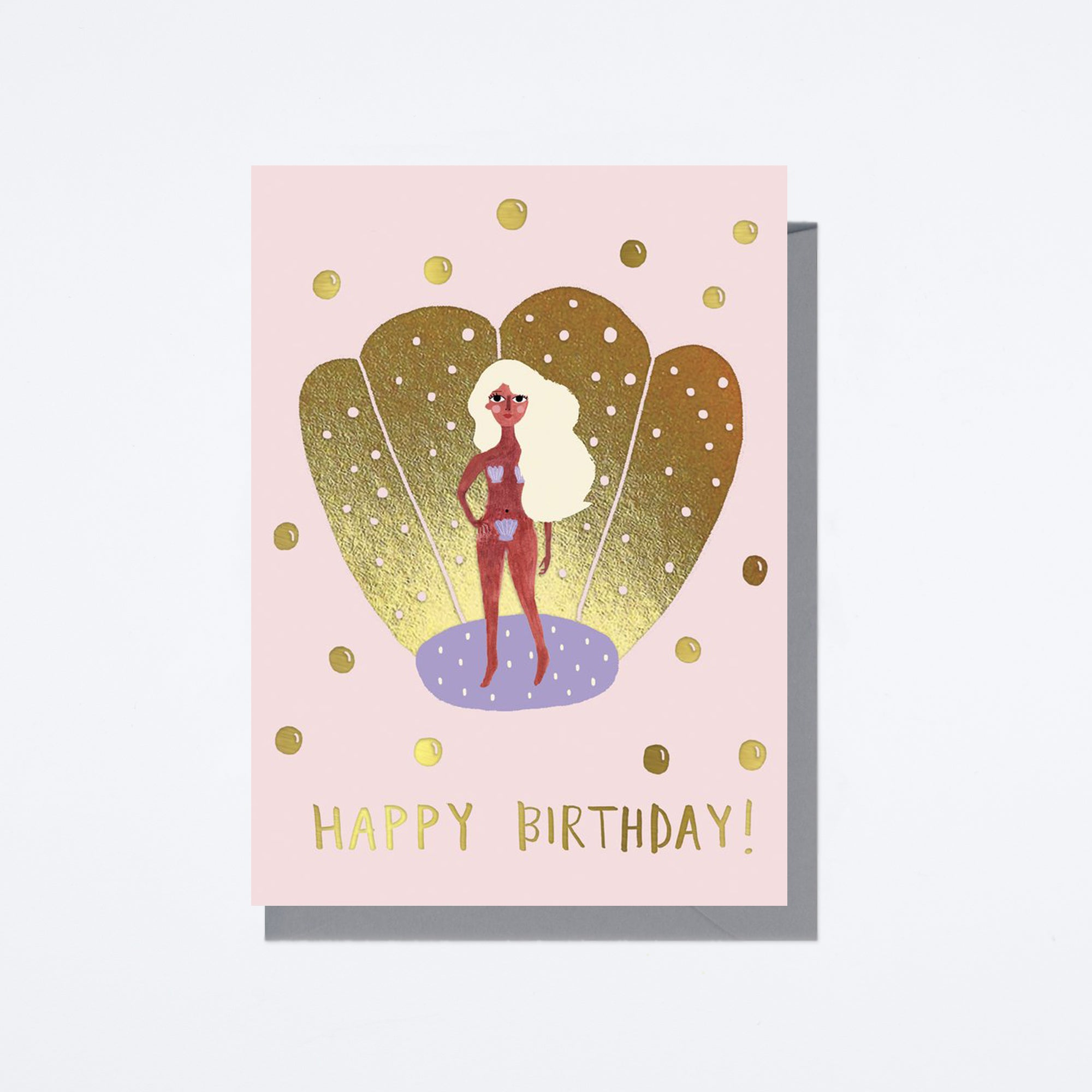 The Birth of Venus Birthday Card