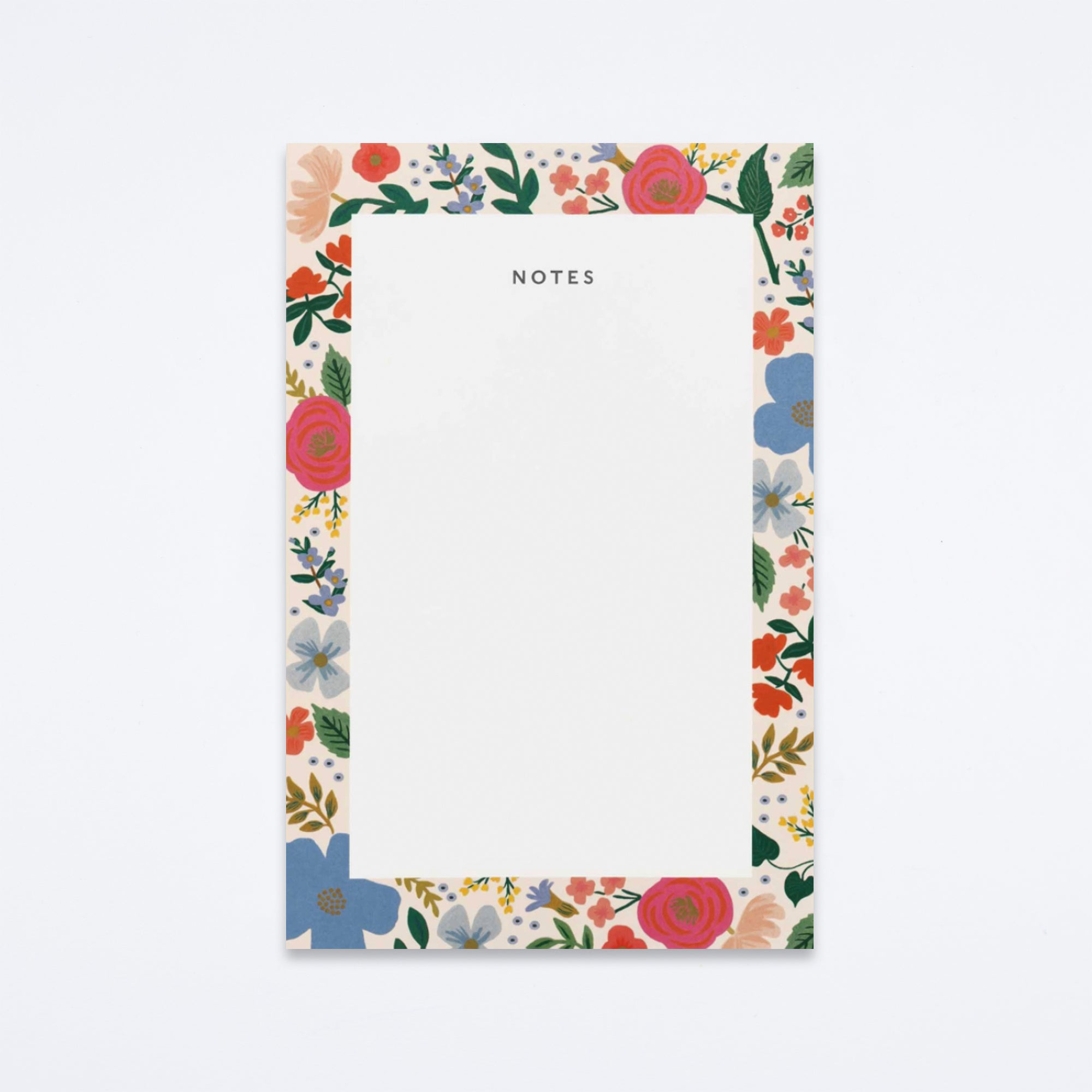 Wild Rose Notepad