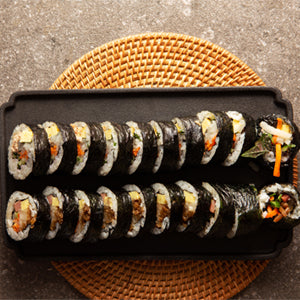 Traditional Korean Fish Cake Kimbap
