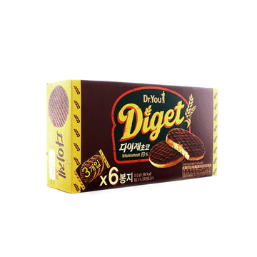 [Orion] Digest Chocolate 13% 6pk 312g