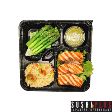 [Sushi Plus] Salmon Teriyaki Bento Box
