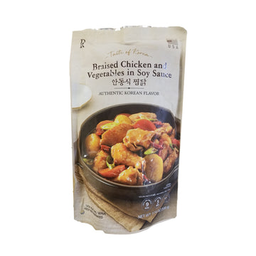 [E-Mart] Braised Chicken and Vegetable with Soy Sauce 500g