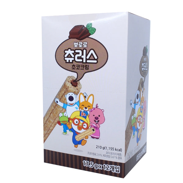 [Pororo] Chocolate Cream Churros 210g