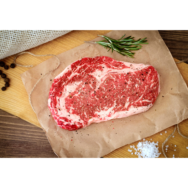 [Greater Omaha] USDA Prime Angus Boneless Ribeye Steak Approx 1lb (1pack)