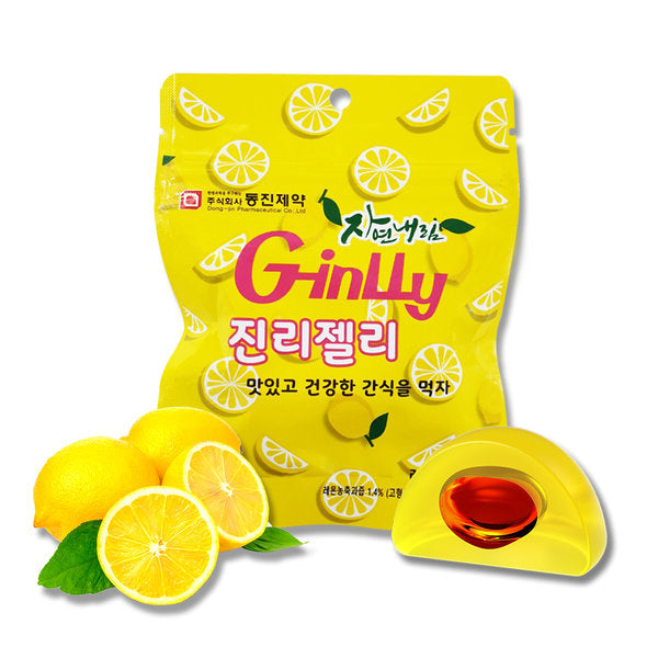 [Dongjin] Nature G-inlly Jelly (Ginsung with Lemon Flavor) 100g