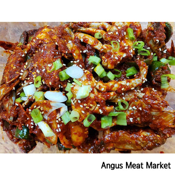 [Angus Meat Market] Spicy Marinated Crab Approx 2.4lb