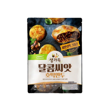 [Pulmuone] Mini Pancake Dumpling with Brown Sugar Seed 21.2oz