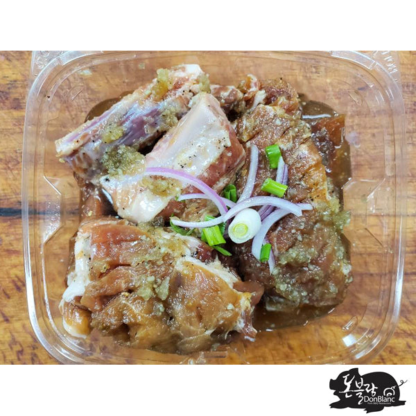 [Don Blanc] Taeneng Salt Marinade Pork Galbi 450g
