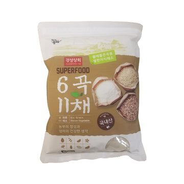[Gyung Seoung] 6 Grain & 11 Vegetable Flour 800g