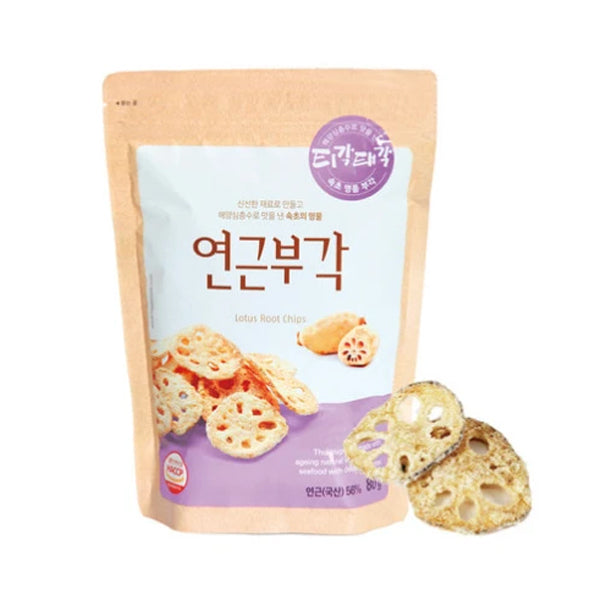 [Gangwondo] Lotus Root-bugak 80g