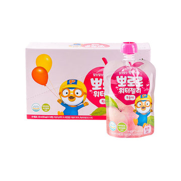 [Paldo] Pororo Water Jelly Peach 120ml*10