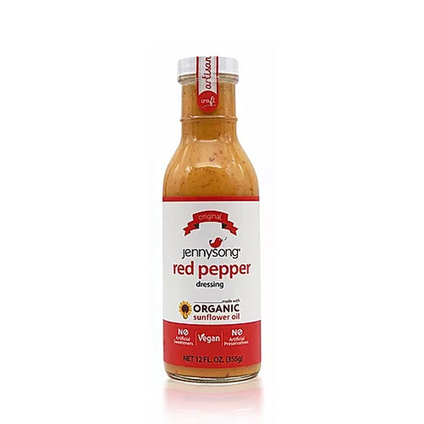 [Jennysong] Red Pepper Dressing 12floz