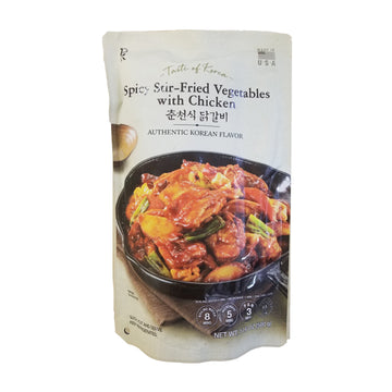 [E-Mart] Spicy Stir-Fried Vegetable with Chicken 500g