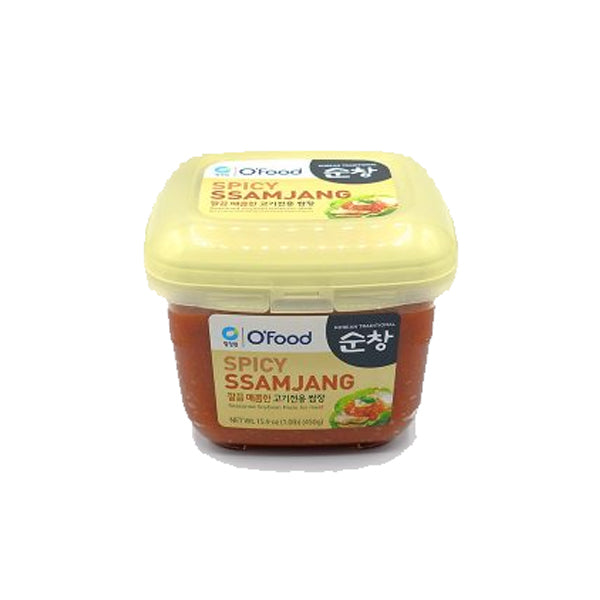 [Chungjungone] Mixed Soy Bean Paste, Spicy Ssamjang 450g