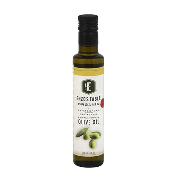 [Enzo's Table] Organic California Extra Virgin Olive Oil 8.5 floz