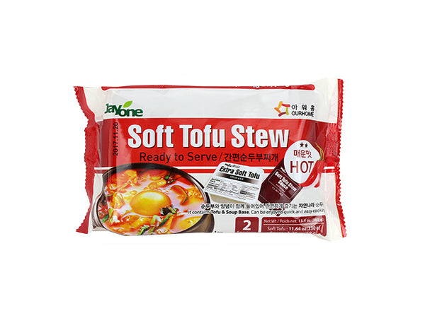 [Jayone] Soft Tofu Stew (Hot) 18.4oz