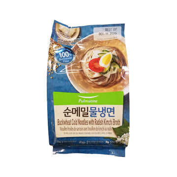[Pulmuone] Buckwheat Cold Noodle with Radish Kimchi Broth 850g