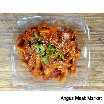 [Angus Meat Market] Spicy Beef Honeycomb & Veal Small Intestine for BBQ (Approx 1~1.1lb)