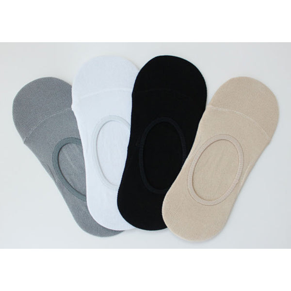 Viscose Rayon Slipper Socks 4pack