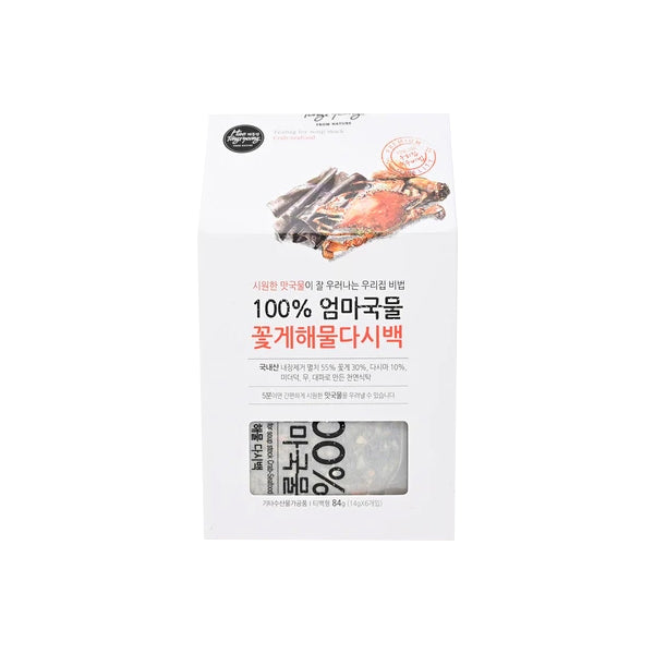 [Haetongryeong] Dried Crab & Seafood T-bag for Soup 84g (14g * 6T-bag)