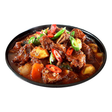 [Moobongri] Spicy Steamed Beef Short Ribs for 4servings (3.5~4lb)