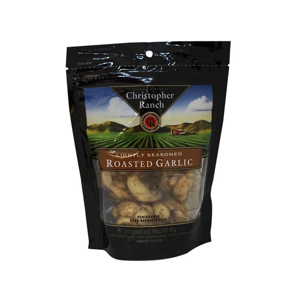 [Christopher Ranch] Lightly Seasoned Roasted Garlic 6oz