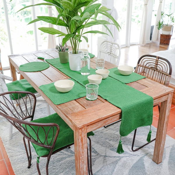 Tulip Dining Set - Ever Green