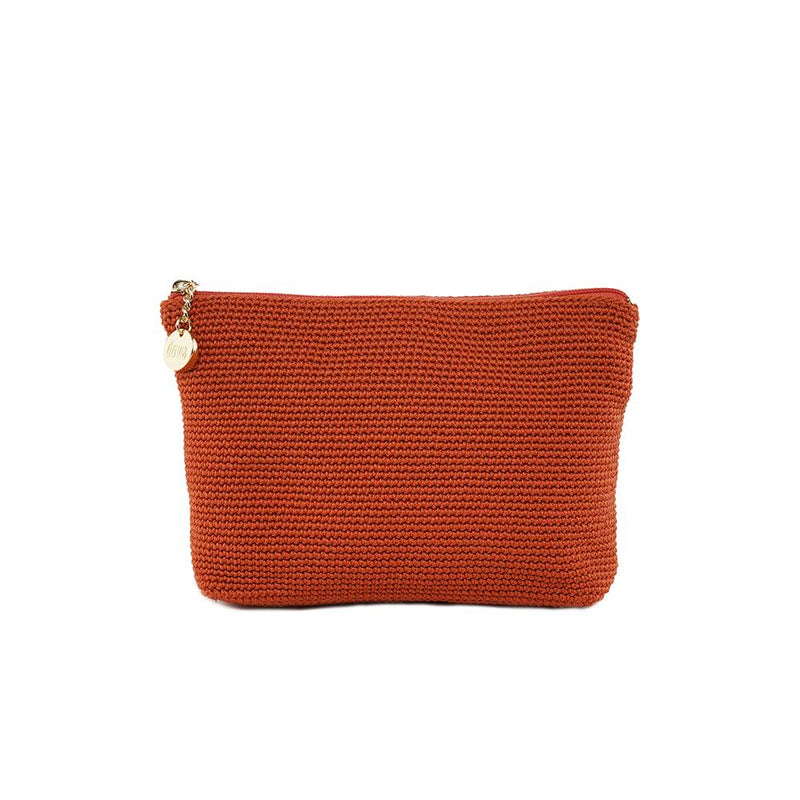 Tambora Cosmetic Case Dark Orange