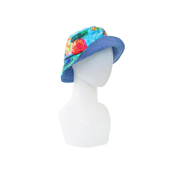 Topi Lotus Bucket Hat