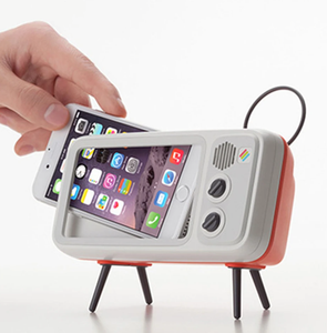 RETRO TV MOBILE PHONE HOLDER