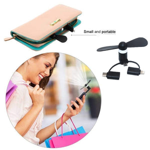 Silent Mobile Phone Fan
