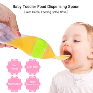 Cute Baby Bottle Spoon