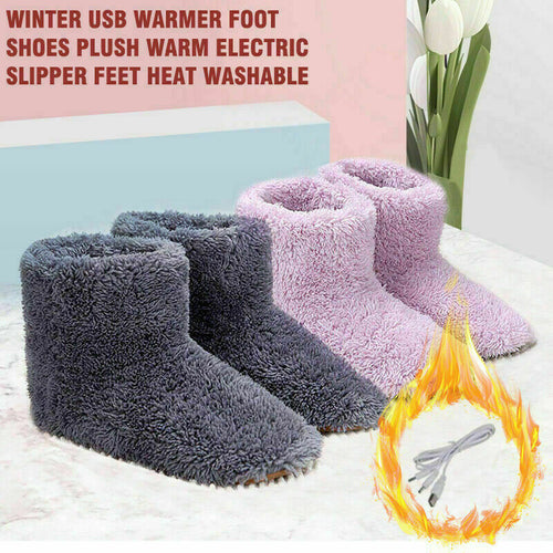 ELECTRIC HEATED FOOT WARMER SHOES