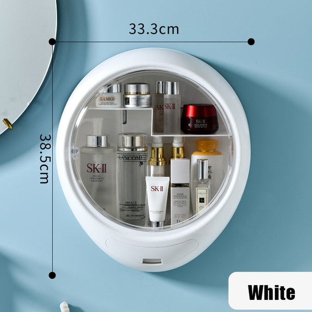 Wall-mounted Cosmetic storage box