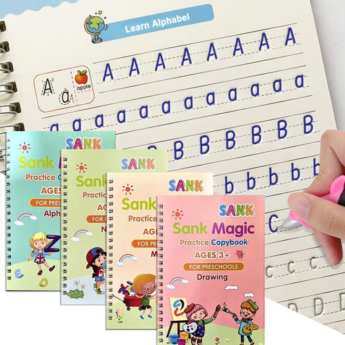 Four Magic Practice Copybook For Kids (50% Off)