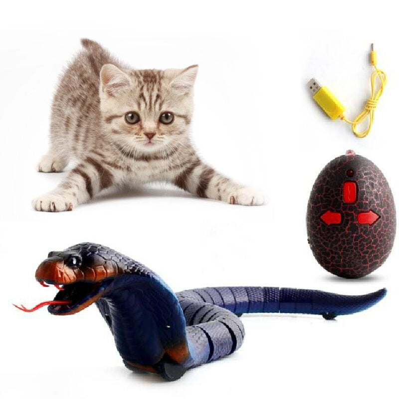 Remote Control Snake Toy For Cats