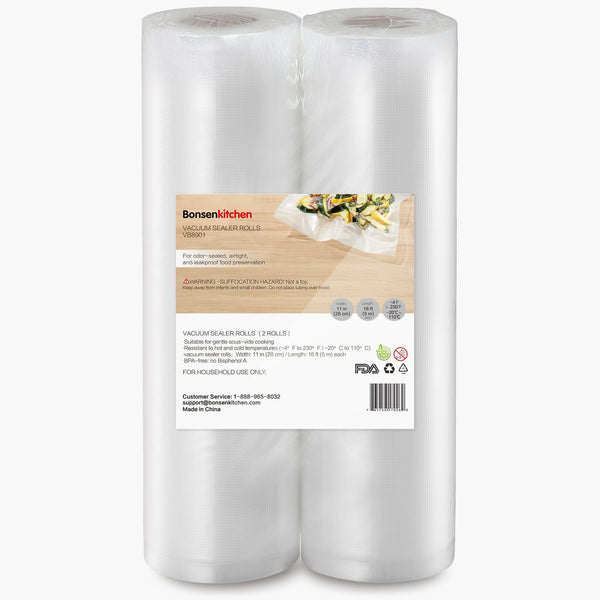 Bonsenkitchen Vaccum Sealer Packing Bag Rolls - Bonsenkitchen
