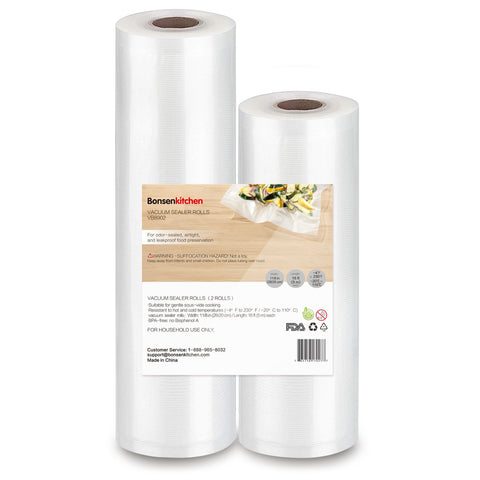 Bonsenkitchen Vaccum Sealer Packing Bag Rolls