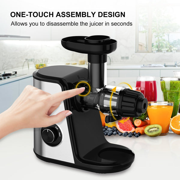 Bonsenkitchen Slow Masticating Juicer Extractor - Bonsenkitchen