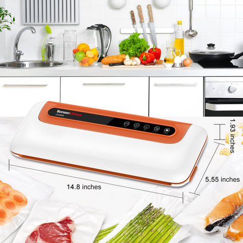 Bonsenkitchen VS3906 Vacuum Sealer