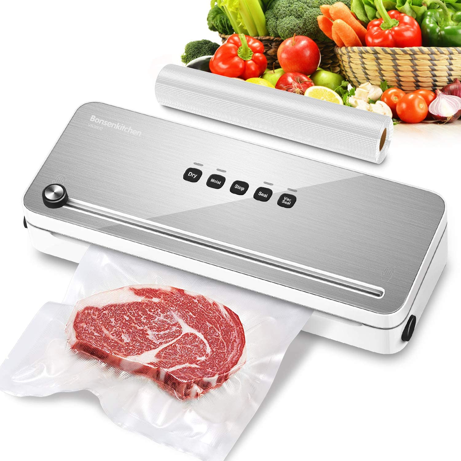 Bonsenkitchen VS3802 Vacuum Sealer