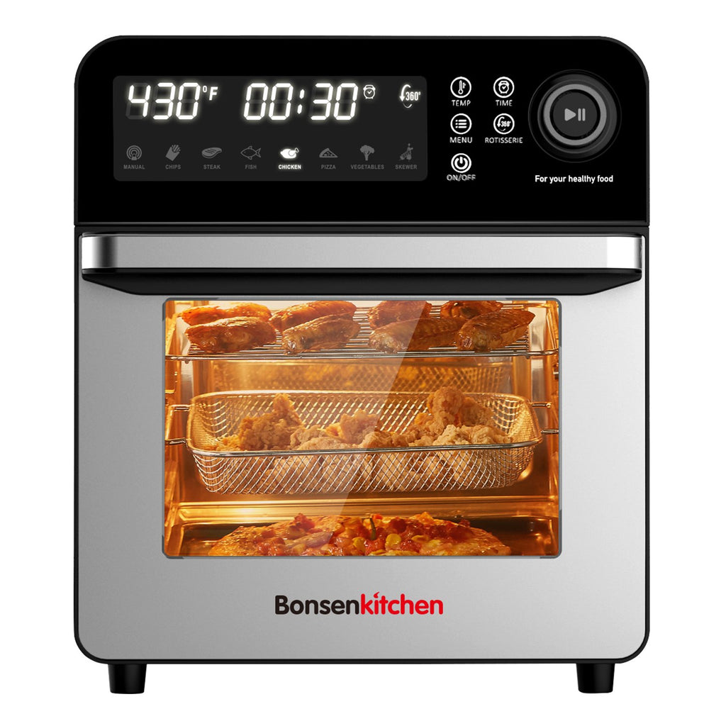 Bonsenkitchen AF8901 Air Fryer Toaster Oven