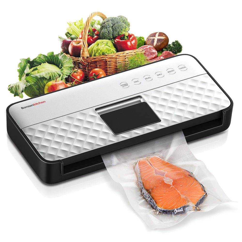 Bonsenkitchen Hands-free Automatic Vacuum Sealer VS3911