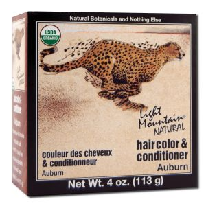 Natural Hair Color and Conditioner Auburn
