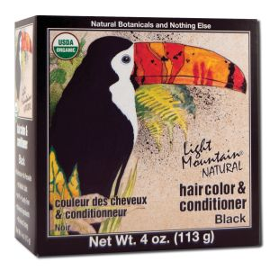 Natural Hair Color and Conditioner Black