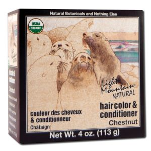 Natural Hair Color and Conditioner Chestnut